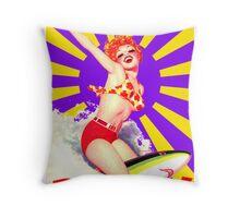 Banzai!! Throw Pillow