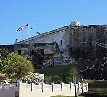 La Fortaleza in San Juan Puerto Rico by Ren Provo