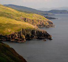 Cliffs in the spotlight by Karin  Funke