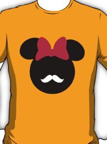 Minnie Mouse-tache  T-Shirt