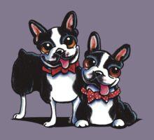 Merry Gentlemen   Boston Terriers Kids Clothes