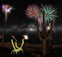 Happy July 4th from the Sonoran Desert of Arizona by HDTaylor