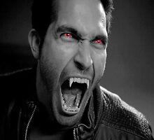 """Derek """"The Alpha"""" Hale by DeafVampireAnge"""