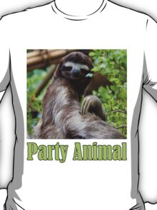 Party Animal - The Sloth T-Shirt