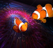 Clownfishes in fractal circus. by art-ZeST