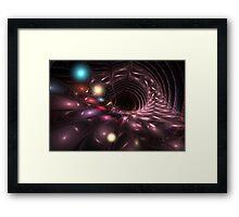 Supermassive Black Hole Framed Print