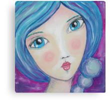 Viola Sea Pearl Canvas Print