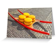 Cheese market Greeting Card