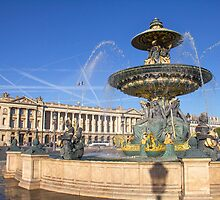 Place de la Concorde, Paris, France by gianliguori
