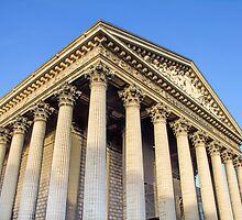 The Madeleine church, Paris, France by gianliguori