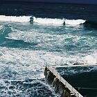 Bondi icebergs pool on film by Justine Gordon