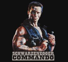 Arnold Schwarzenegger Commando by Big Mack