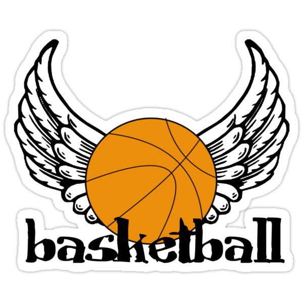 Basketball with Wings by shakeoutfitters