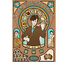 I Am Sherlocked Photographic Print