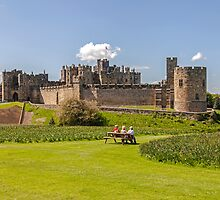 Alnwick Castle by David Patterson
