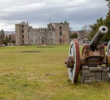 Chillingham Castle by David Patterson
