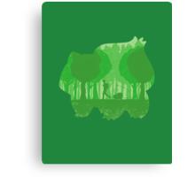 Green companion Canvas Print