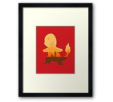 Red companion Framed Print