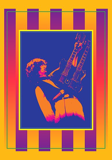 Jimmy Page Poster Print by retrorebirth