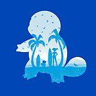Blue companion by Whitebison