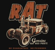 RAT - Rat Rod - Rust Effect - Dark by KlassicKarTeez