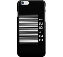 Cosima's barcode  iPhone Case/Skin