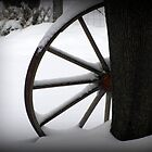 Winter Wagon Wheel by sevenfeathers