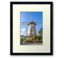 The Windmill, Launceston, Tasmania, Australia Framed Print