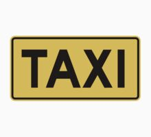 Taxi Sign by SignShop