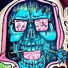 Welcome to Jolly Hallucinogenic 1969. Skull Graffiti  by yurix