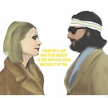 Margot & Richie // The Royal Tenenbaums by alicetgibbs