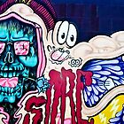 Welcome to Jolly Hallucinogenic 1969. Skull and others Graffiti  by yurix