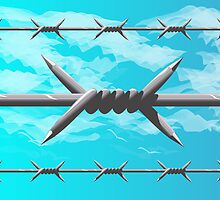 Barbed wire by CamposDO