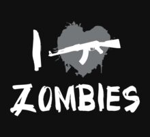 I Love Shooting Zombies by BrightDesign