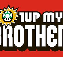 1UP MY BROTHER by popnerd