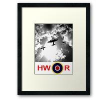 WWII battle of Britain Flight Framed Print