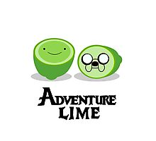 Adventure Lime Photographic Print