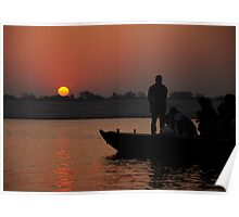 Daybreak on the Ganges Poster