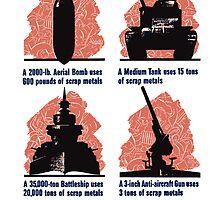 Get In The Scrap -- WWII by warishellstore
