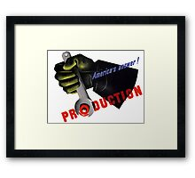 America's Answer! Production -- World War II Framed Print