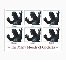 The Many Moods of Godzilla by wpcphoto