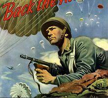 Back The Attack -- Buy War Bonds  by warishellstore