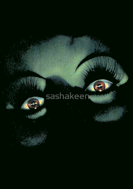Eyes in the Night by sashakeen