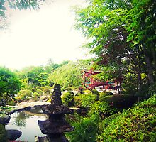 Garden In Japan by ItsVaneDani