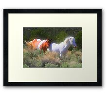 You Can Lean On Me Framed Print