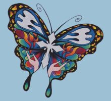 Christianity Butterfly Art Kids Clothes
