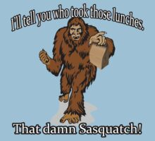 That damn Sasquatch! by trippinmovies