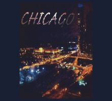 Chicago Abstract Skyline by K3LLIE3