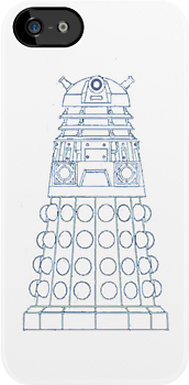 Dalek iPhone case by kduncanj