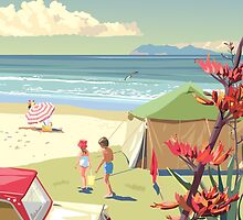 Waihi Beach New Zealand by contourcreative